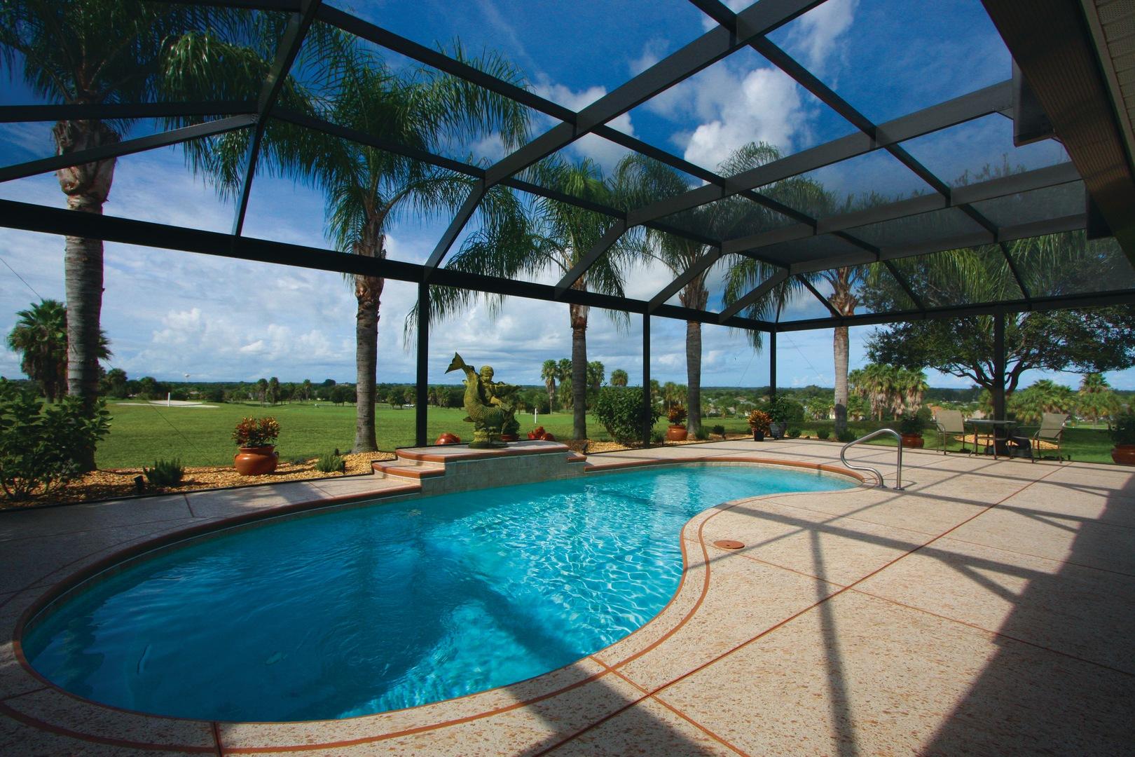 Florida Pool Enclosures Products White Aluminum Amp Windows