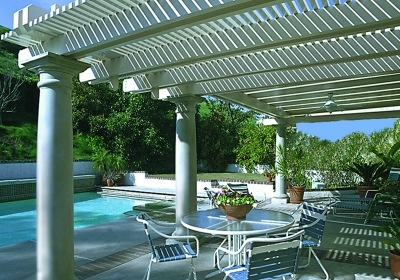 Outdoor Décor: Dressing up a Pergola