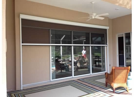 Retractable screen systems for Retractable screen systems
