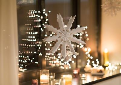 Ideas for Creative Seasonal Window Decorating