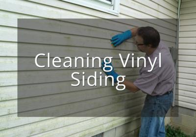 Cleaning Vinyl Siding