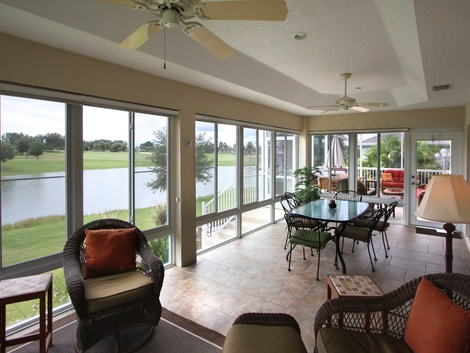 Sunrooms florida rooms products white aluminum windows for Florida style windows