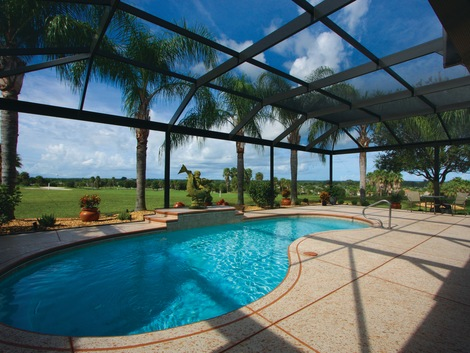 Florida Pool Enclosures Products White Aluminum Windows