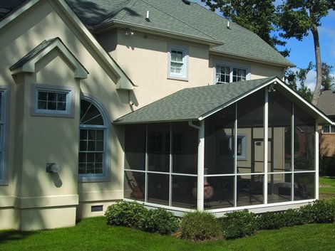 Screen Rooms - Screen Room - Products | White Aluminum & Windows